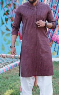 Junaid Jamshed Men's Summer Kurta Collection 2016 8