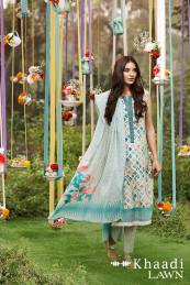 Khaadi Lawn Geometric Fusion Summer Collection 2016 8