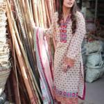 Khaadi Spring Season Two Piece Casual Wear 2016 11