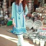 Khaadi Spring Season Two Piece Casual Wear 2016 3