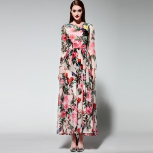 Long Maxi Dresses For The Spring Season Events 5