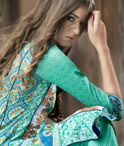 Mahnoor Embroidered Spring Summer Lawn Al Zohaib 2016 13