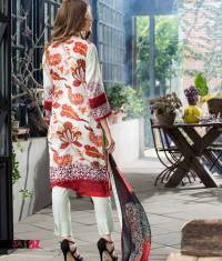 Mahnoor Embroidered Spring Summer Lawn Al Zohaib 2016 23