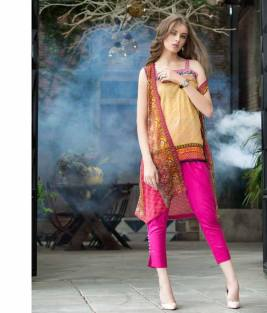 Mahnoor Embroidered Spring Summer Lawn Al Zohaib 2016 4