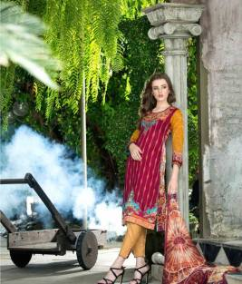 Mahnoor Embroidered Spring Summer Lawn Al Zohaib 2016 6
