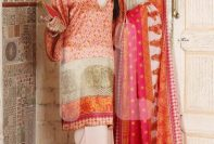 Nishat Linen Formal Wear Silk Dresses 2016