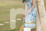Nishat Linen Nisha 3 Piece Summer Collection 2016