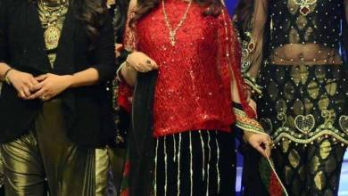 Syra Rizwan Runway Collection Party Wear 2016