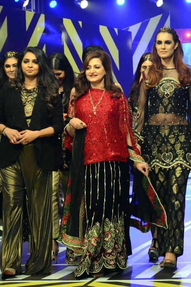 Syra Rizwan Runway Collection Party Wear 2016