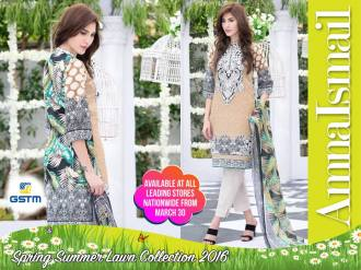 Embroidered Summer Lawn Dresses By Amna Ismail 2016 12