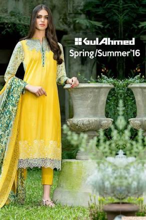 Gul Ahmed Spring Summer Catalog 2016 4