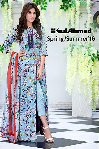 Gul Ahmed Spring Summer Catalog 2016 7