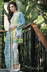 Maria B Summer Lawn Dresses Vol-1 2016 Collection 16