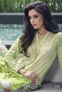 Maria B Summer Lawn Dresses Vol-1 2016 Collection 27
