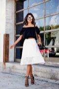 Off The Shoulder Summer Tops Women Casual Wear 17