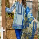 Alkaram Luxurious Lawn Shalwar Kameez Vol-2 2016 2