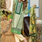 Alkaram Luxurious Lawn Shalwar Kameez Vol-2 2016 6