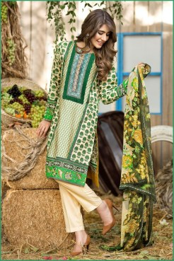 Alkaram Luxurious Lawn Shalwar Kameez Vol-2 2016 6