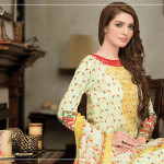 Ayesha Chottani Summer Party Wear Shalwar Kameez 2016