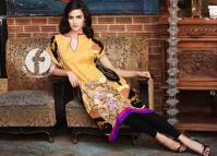 Embroidered Kurti Summer Collection By Firdous Fashion 2016 8