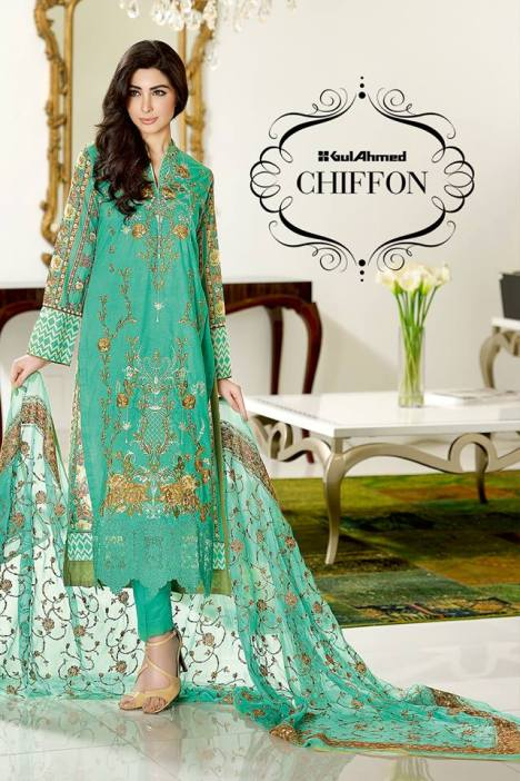 Gul Ahmed Chiffon Summer Collection Vol-2 2016