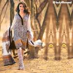 Gul Ahmed Printed Lawn Suits 3 Pcs Collection 2016 6