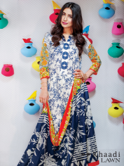 Khaadi Lawn Colorful Geometrics Collection 2016 2