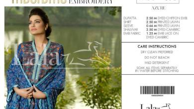Macrame Embroidered Summer Lawn Collection 2016
