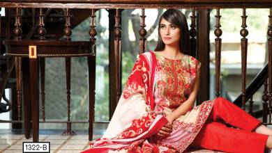 Motifz Embroidered Rangol Summer Collection 2016