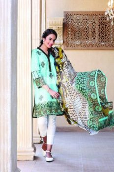 Nisha Lawn Summer Shalwar Kameez Vol-2 By Nishat Linen 2016 20
