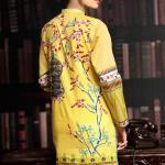 Printed Embroidered Stitched Kurtis By Threadz 2016 3