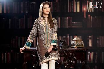 Printed Embroidered Stitched Kurtis