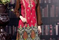 Printed Embroidered Stitched Kurtis By Threadz 2016