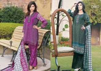 Summer Casual Designer Lawn By Jubilee Textiles 2016 5