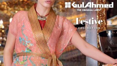 Gul Ahmed Luxury Eid Festive Collection 2016