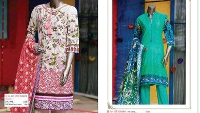 Junaid Jamshed Women Eid Wear Summer 2016