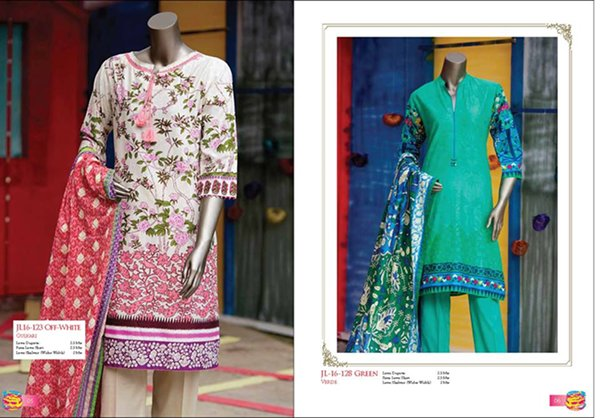 Junaid Jamshed Women Eid Wear Summer 2016