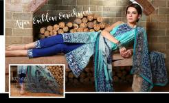 Komal Lawn Fancy Dresses By LSM Fabrics 2016 18
