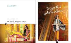 Komal Lawn Fancy Dresses By LSM Fabrics 2016 5