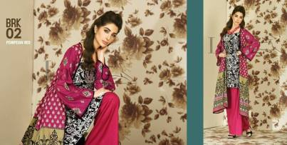 Lala Brocade Embroidered Kurti Collection 2016 3