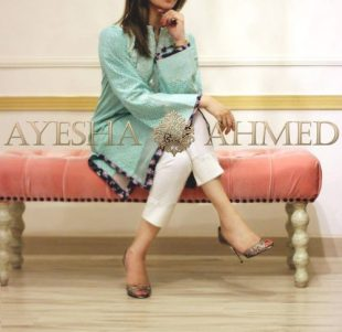 Luxury Pret Summer Collection By Ayesha Ahmed 2016 4