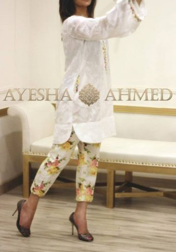 Luxury Pret Summer Collection By Ayesha Ahmed 2016 8