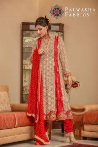 Palwasha Fabrics Eid Dresses Evening Wear 2016 4