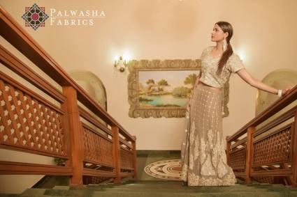 Palwasha Fabrics Eid Dresses Evening Wear 2016 5