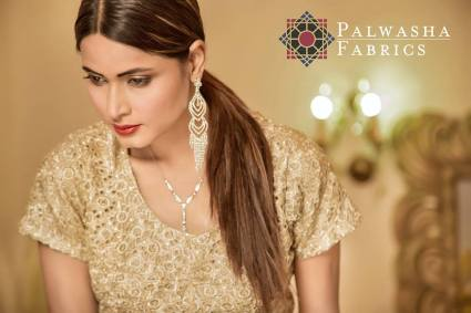 Palwasha Fabrics Eid Dresses Evening Wear 2016 6