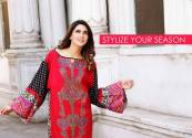 Printed Embroidered 2 Piece Lawn Collection 2016 12