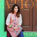 Printed Embroidered 2 Piece Lawn Collection 2016 6