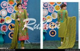 Rujhan Eid Lawn Collection Embroidered Dresses 2016 4