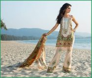 Shehla Chatoor Luxury Lawn Collection Summer 16 2