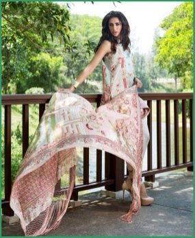 Shehla Chatoor Luxury Lawn Collection Summer 16 20